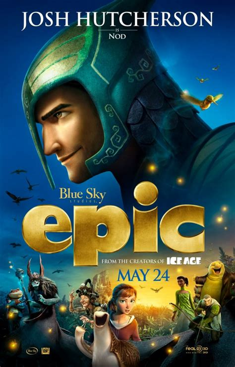 epic film josh hutcherson 25 things to know about blue sky s epic blu ray dvd