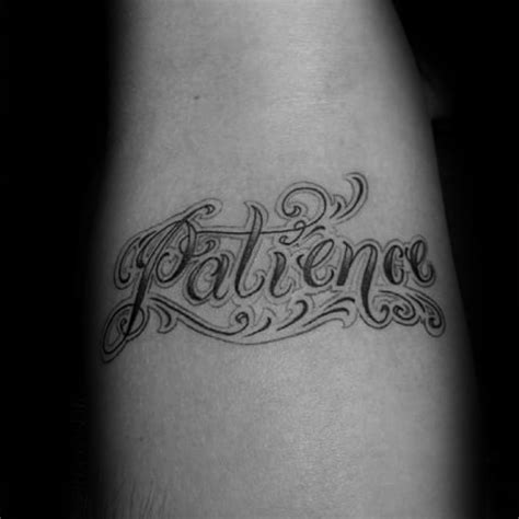 patience tattoo designs 30 patience designs for word ink ideas