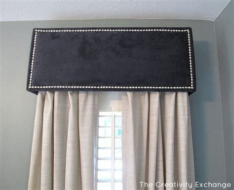 box window valance how to diy a pelmet or box valance window boxes