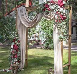 Backyard Rustic Wedding Ideas 20 Diy Floral Wedding Arch Decoration Ideas