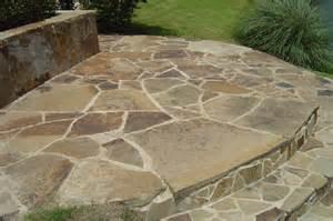 mahogany patio flagstone empire stone company