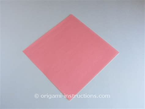 Origami Azalea - origami azalea folding