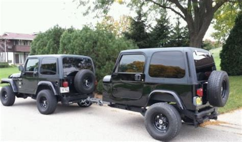 cool jeep add ons jeep wrangler cer trailer tj yj fishing jeep