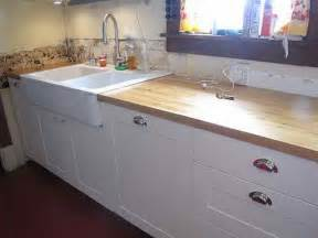 kitchen white butcher block countertops installing
