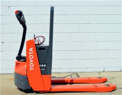 Toyota Electric Truck 7hbw23 Error Codes Toyota Electric Pallet 7hbw23 Manual