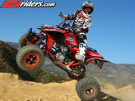 motocross atv com nick denoble 2009 ama pro atv motocross rookie honda