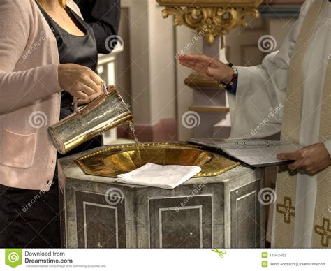Wedding Blessing Priest by Priest Blessing Water Stock Photography Image 11042452