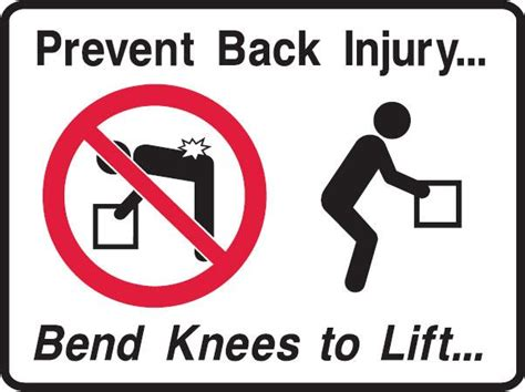 9 Tips To Prevent Workout Injuries by Lifting Safely At Work Tips To Prevent Back Injuries