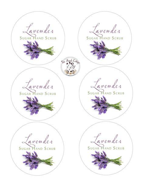 printable lavender labels lavender sugar scrub labels