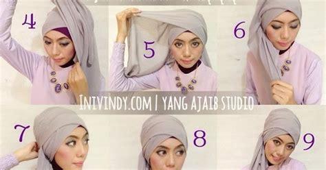 tutorial hijab pesta elegan ini vindy yang ajaib 4 tutorial hijab pesta elegan dan mudah
