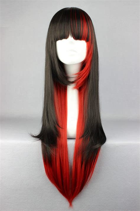 Wig 70 Cm Tsn aliexpress buy mcoser 70cm black and mixed beautiful wig anime wig from