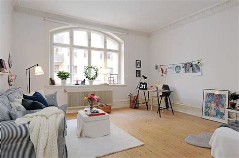 beautiful small apartments scandinavian style in the living room adorable home