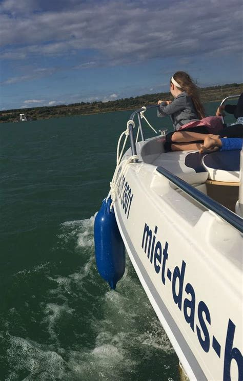 motorboot störmthaler see f 252 hrerscheinfreie boote zum selbstfahren am st 246 rmthaler see