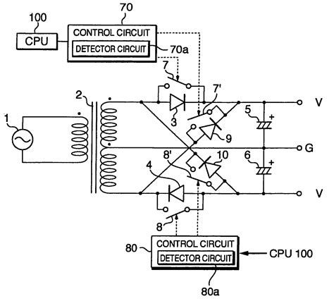 reactive power capacitor negative patent us7209374 capacitor input positive and negative power supply circuit patents