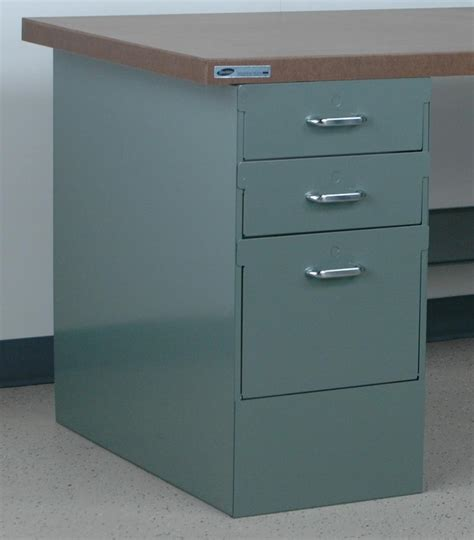 pedestal workbench stackbin workbenches 23 quot long drawer cabinet
