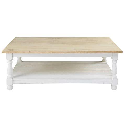 Table Basse En by Table Basse En Manguier Rimini Maisons Du Monde