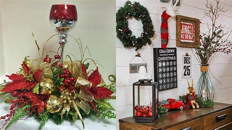 hermosas decoraciones navidenas feliz ano nuevo  youtube