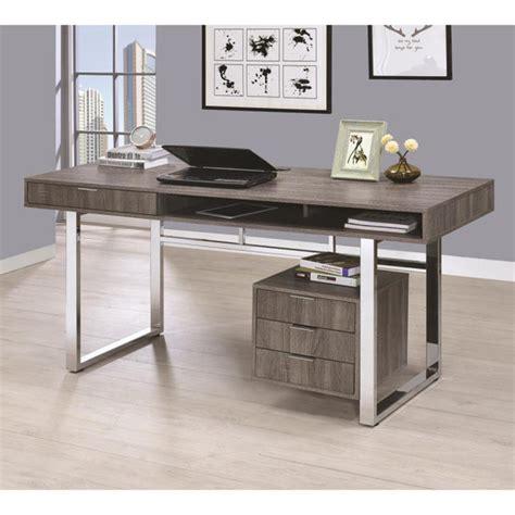 escritorios mexico coaster escritorio para oficina gris costco mexico