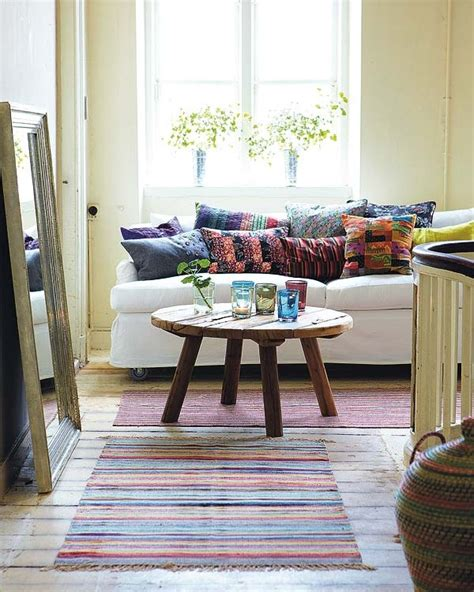 decoraci 243 n hippy chic cojines y alfombras a 241 os 70 - Decoracion Hippie Chic