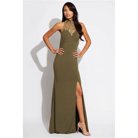 green prom dress jovani 89685 olive green dress jersey