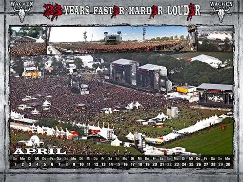 woa wallpapers neues kalenderblatt woa wacken