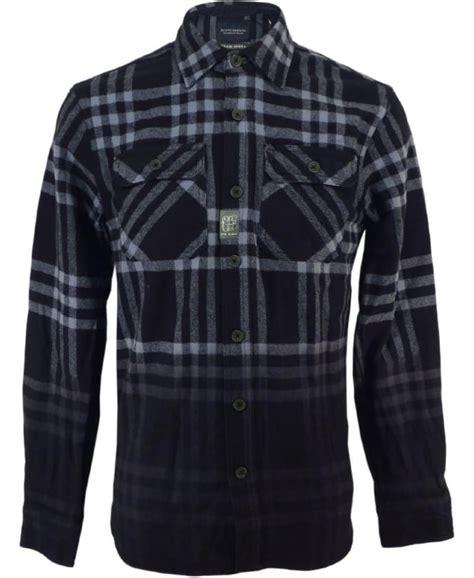 oversized shirt pattern scotch soda tartan pattern oversized flannel shirt