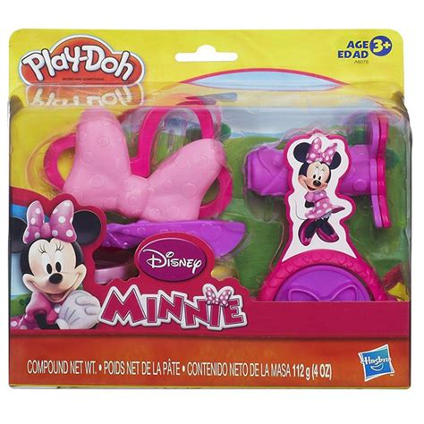 Play Doh Minnie Mouse Boutique Set Featuring Minnie Mouse play doh minnie mouse bowtique set at