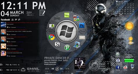 rainmeter themes for windows 8 1 my next rainmeter desktop by eight wonder on deviantart