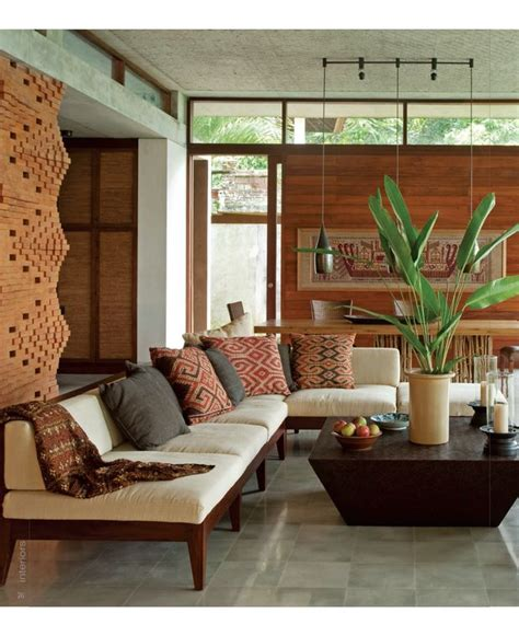 Indonesian Home Decor | living rooms balinese interior design bali style brick