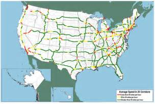 map of us federal highways freight and congestion fhwa freight management and