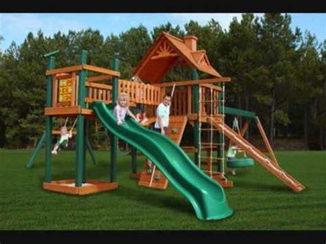 Children's Outdoor Swing Set / Playsets   YouTube