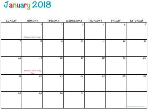 printable calendar 2018 blog free printable 2018 calendars to simply inspire