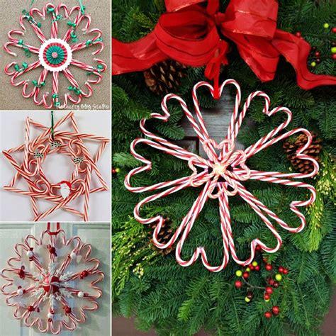 wonderful diy christmas candy cane wreath candy cane