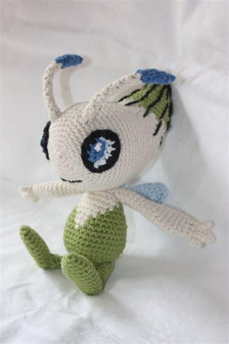 amigurumi mew pattern celebi crochet pokemon by crochetmeow on etsy 54 99