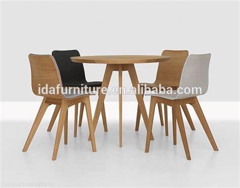 oval solid wood dining table modern table side table view