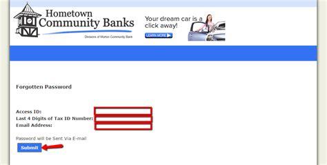 reset fnb online banking details morton community bank online banking login cc bank
