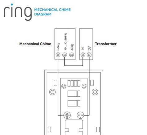 ring doorbell wireless chime wiring diagram 43 wiring