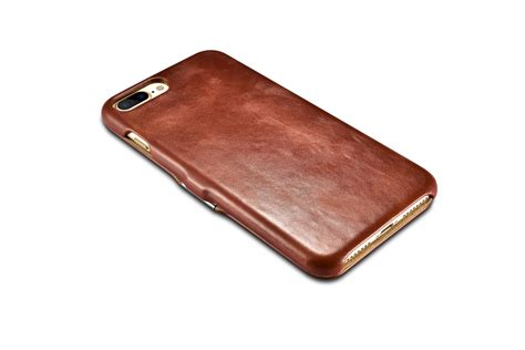 iphone 7 plus vintage series side open genuine leather