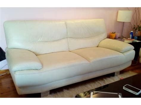 A Pair Of Real Leather Sofas For Sale Real Leather Sofas For Sale