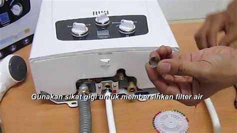 Gas Water Heater Blue Gaz blue gaz gas water heater tidak panas atau api mati