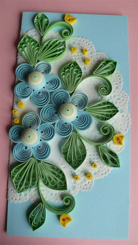 quilling art greeting card birthday wedding mother s 46 best images about quilling on pinterest colored paper