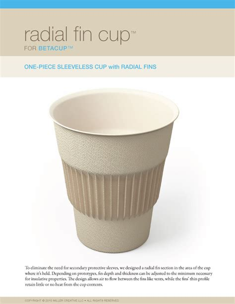 coffee cup design on behance radial fin cup coffee cup concept on behance
