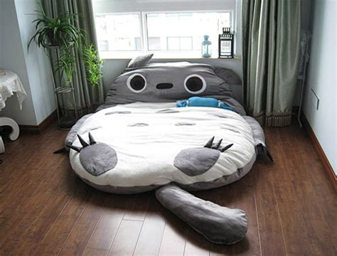 animal beds sleep tight in a totoro bed incredible things