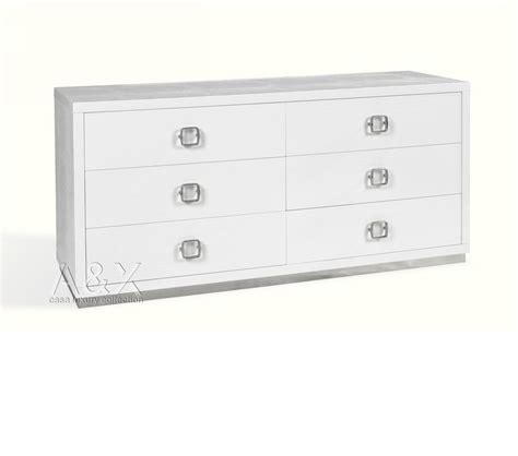dreamfurniture com evans transitional mirror dresser dreamfurniture com aw421 159 modern white gloss