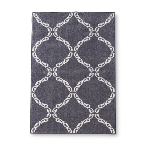 Essential Home Gallery Fretwork Accent Rug 30 X 46 Fretwork Area Rug