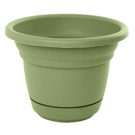 Living Green Planters by Bloem 28 In Living Green Plastic Planter Mp2428 42