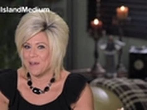 why do we never see theresa caputo mother real life mom long island medium youtube