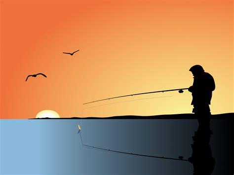 fishing background fishing backgrounds black orange powerpoint