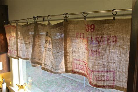 sewing curtains by hand diy no sew burlap curtains the holliday collective