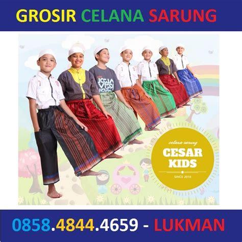 Celana Sarung Anak Grosir produsen distributor agen grosir celana sarung praktis instan dewasa anak grosir celana sarung